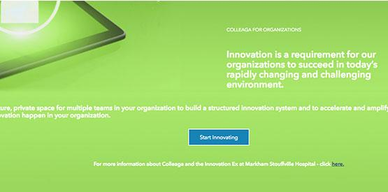 Colleaga is an solution innovation and collaboration community platform based around the BrightIdea API